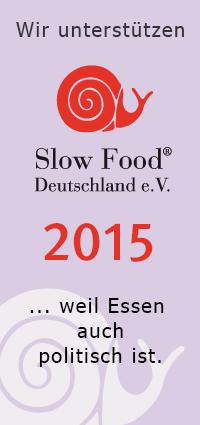 wir fördern Slow Food